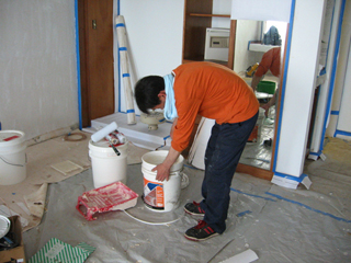 アクリルシリコン樹脂塗料のイメージ写真